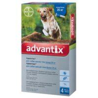 Капли на холку для собак от блох и клещей Адвантикс Байер (Bayer Advantix), от 25 до 40 кг
