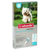 Адвантикс для собак 4-10 кг (1 пип.х 0,1 мл)