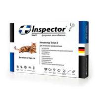 Inspector капли для кошек до 4 кг, 1 пипетка