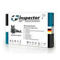 Inspector капли для кошек весом 4-8 кг, 1 пипетка