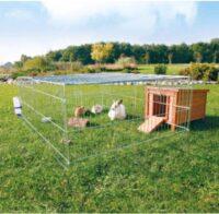 Металлический вольер-клетка, загон для щенков, кролей и др грызунов Трикси (Trixie) TX-62452, 216/65/116 см