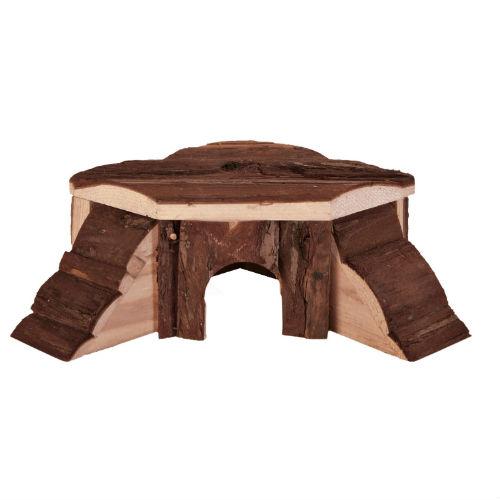 Деревянный домик для грызунов TX-6175