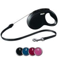 Поводок-рулетка Флекси Нью Классик (Flexi New Classic) для собак TX-1179, 5 м/20 кг