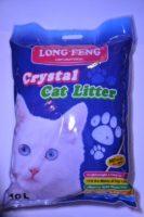 Наполнитель для кошачьего туалета силикагель Crystal (кристал) 10л 76956
