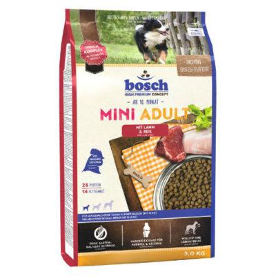Bosch (Бош) MINI ADULT (ягненок и рис) 3кг