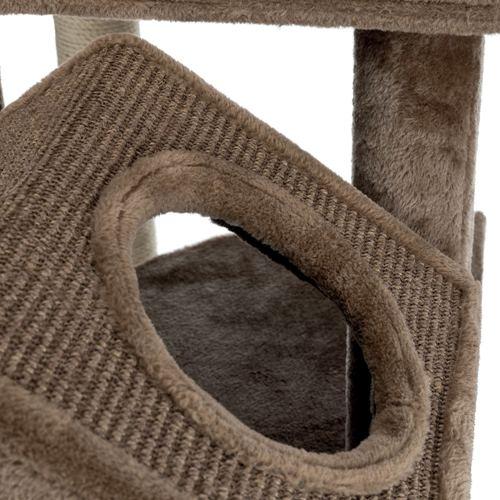 Домик, когтеточка с двумя домиками Roja Trixie-44437 165см 77139