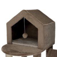 Домик, когтеточка с двумя домиками Roja Trixie-44437 165см 77141