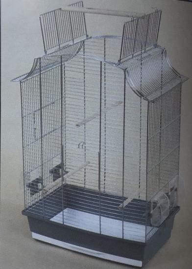 Клетка для птиц Greta Cabrio 49*30,5*65см оцинкованная