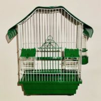 Клетка для птиц Малый Китай крашенная 28*18*40см