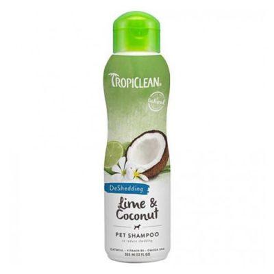 TropiClean Lime and Coconut — шампунь Тропиклин Лайм и Кокос для кошек и собак 335мл