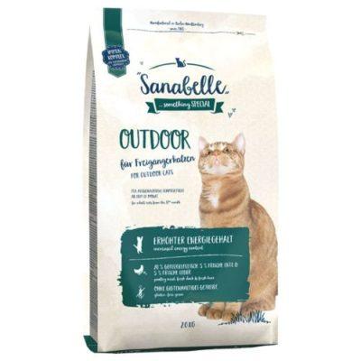 NEW Новинка Bosch Sanabelle Outdoor Бош Санабель Оутдор для котов