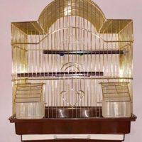 Золотая клетка для птиц 35*28*42см