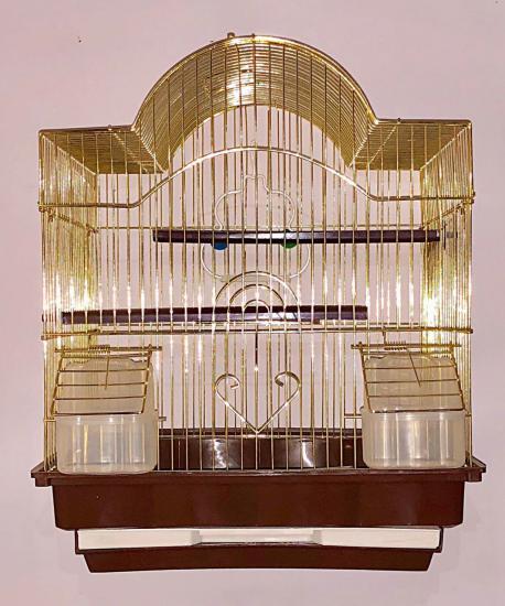 Золотая клетка для птиц 35*28*42