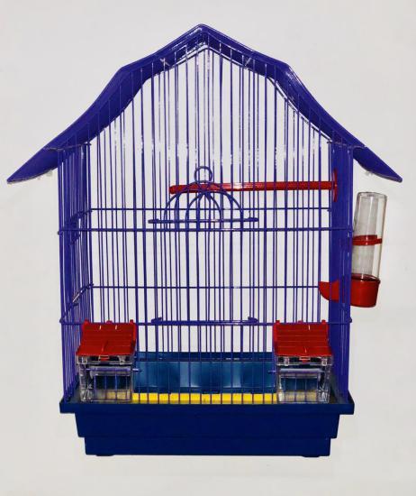 Клетка для попугая Мини-2 в краске 33*23*47