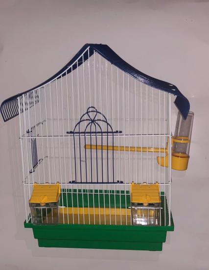 Клетка для попугая мини-1 33*23*45 см