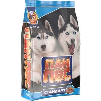 Пан Пес Стандарт корм для собак 10кг протеина 18%