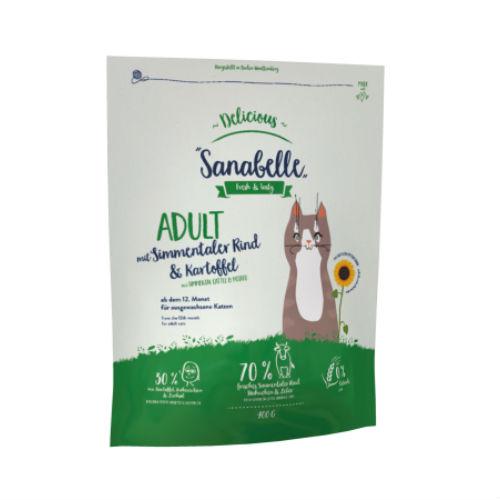 Sanabelle Санабель эдалт говядина с картофелем для котов