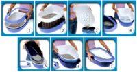 Туалет TRIXIE 40152 Berto для котов синий 39*22*59см 77633