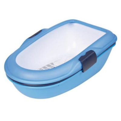 Туалет TRIXIE 40152 Berto для котов синий 39*22*59см