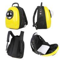 Космический рюкзак-переноска для котов и собак 30х28х44см 77672