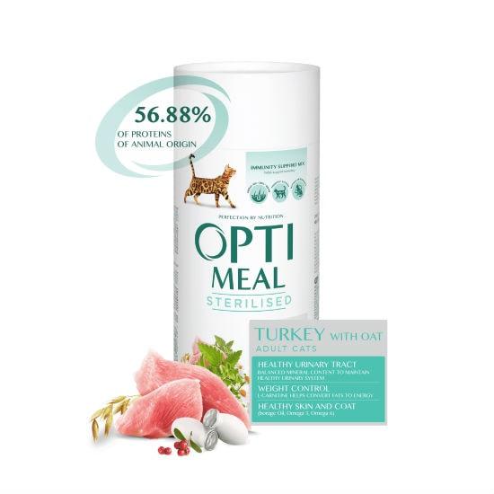 Optimeal Оптимель корм для котов кастрированных