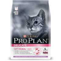 Pro Plan ПРО ПЛАН Delicate для котов с чувствительным пищеварением с индейкой 10кг