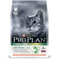 Pro Plan ПРО ПЛАН Sterilised для стерилизованных кошек с лососем 10кг