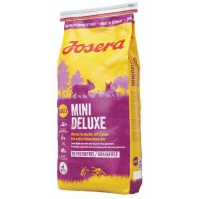 Josera Йозера Mini Deluxe Мини Делюкс для собак с ягненком
