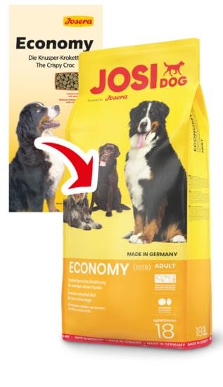 Josera Йозера JOSI DOG ECONOMY ЙозиДог Эконом корм для собак 15кг 78179