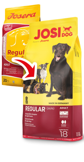 Josidog Regular(ЙозиДог Регуляр) замена Josera Regular корм для собак 20кг