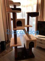 Домик, место когтеточка для кошек Trixie-47001 Felicitas 190см коричневый/бежевый 78019