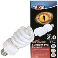 Лампа для рептилий с УФ-А спектром 2.0, 23W Trixie 76033