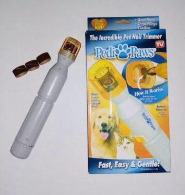 Электрическая пилочка, когтерез, триммер для когтей кошек и собак