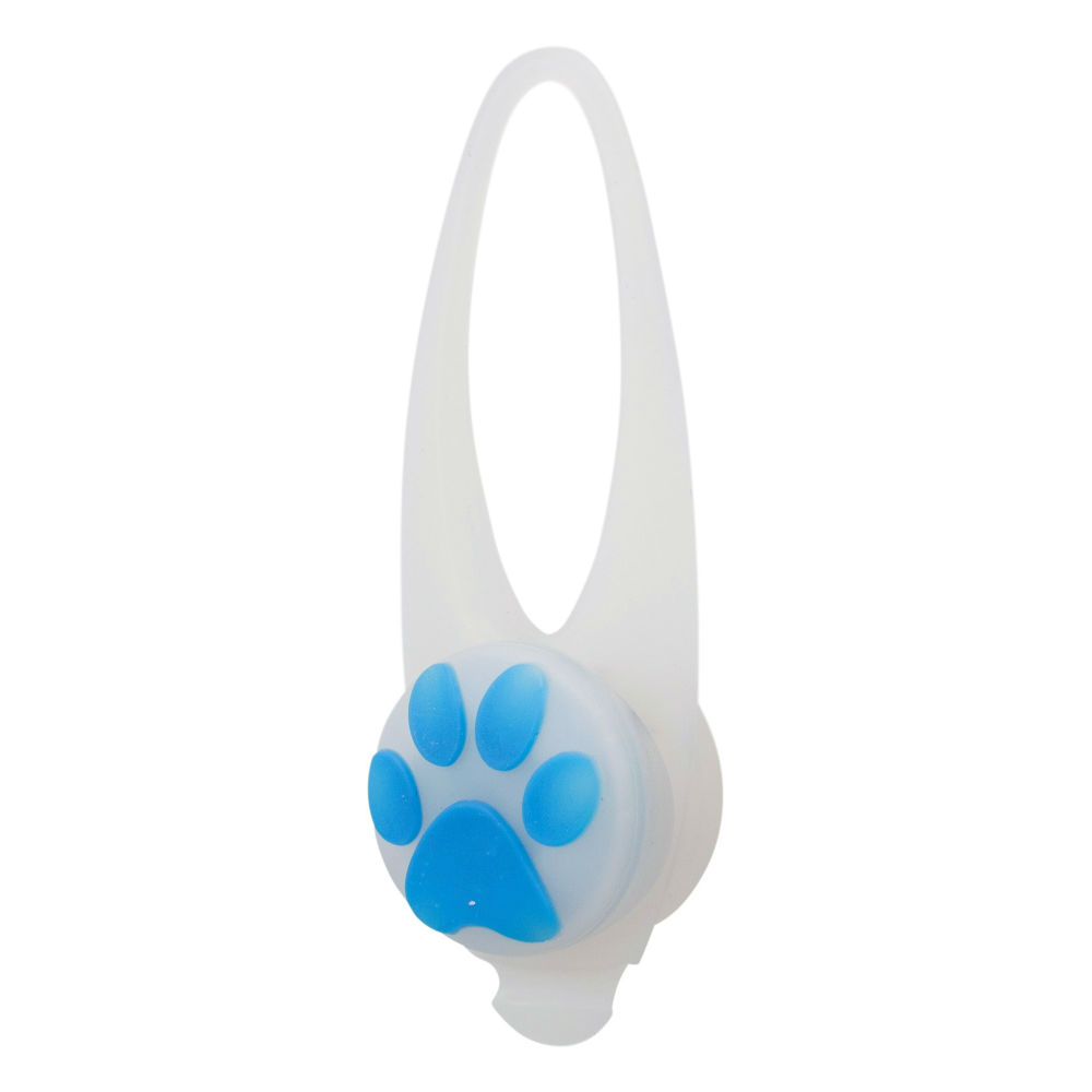 Flasher флешер светящийся брелок для собак силикон TX-13440 белый