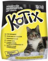 Kotix (Котикс) силикагелевый наполнитель для кошачьего туалета, 7.6 л