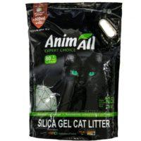 Силикагелевый наполнитель Animall (ЭнимАл голубая долина) для кошачьего туалета, 10,5 л