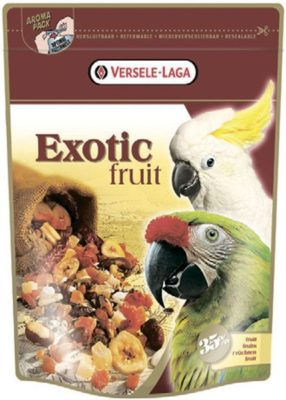 Корм Верселе Лага Престиж Экзотик Фрут для больших попугаев (VL Prestige Exotic Fruit) 0,6 кг с фруктами