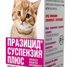 Суспензия Празицид Апи-Сан (Api-San) для котят, 5 мл