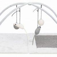 Плюшевая когтеточка-коврик TX-43114 для котов  60х33х42см
