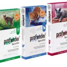 Капли от глистов Профендер (Profender Spot-on) для котов