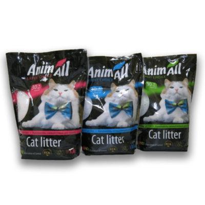 Силикагелевый наполнитель Animall (ЭнимАл) для кошачьего туалета, 3,8 л