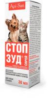 Спрей Стоп-зуд Апи-Сан (Stop-Itch Api-San) для собак и кошек, 30 мл