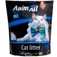 Силикагелевый наполнитель Animall (ЭнимАл голубая долина) для кошачьего туалета, 7,6 л