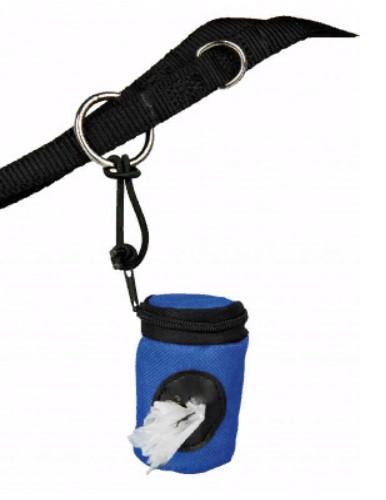 Брелок-тубус для уборочных пакетов Трикси (Trixie) из нейлона с зиппером