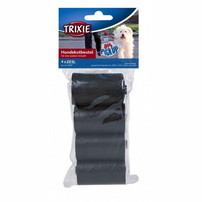 Набор уборочных пакетов Трикси (Trixie) черных, размер М