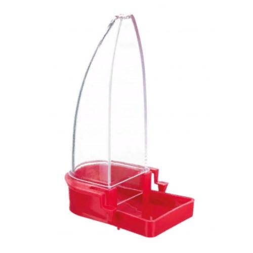 Кормушка-поилка пластиковая Трикси (Trixie) для птиц, 90 мл