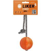 Мячик Лайкер Корд (LIKER Kord) для собак, на шнуре