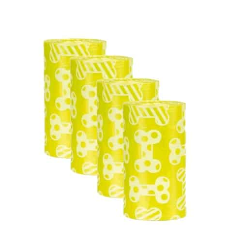 Набор уборочных пакетов Трикси (Trixie) с запахом лимона, размер М