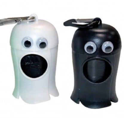 Контейнер в виде привидения и набор уборочных пакетов Кроси (Croci)