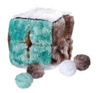 Кубик плюшевый с мячиками TX-4104 Трикси (Trixie) для кошки